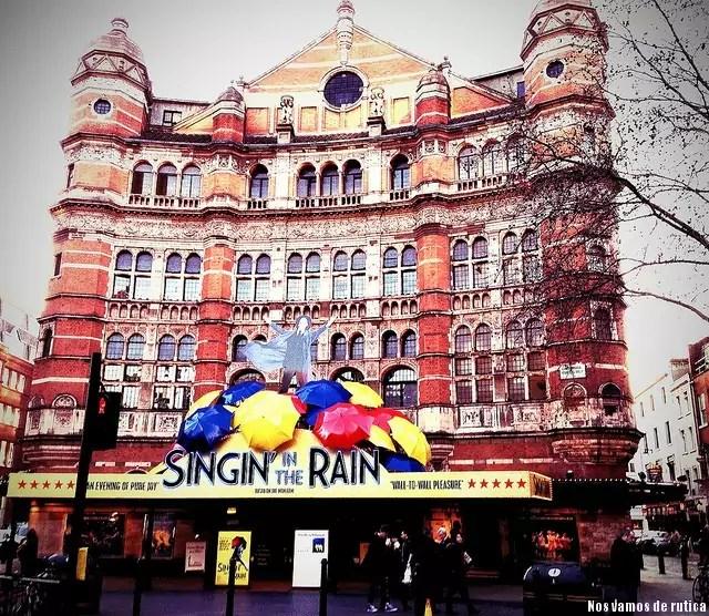 Musical Singing in the Rain