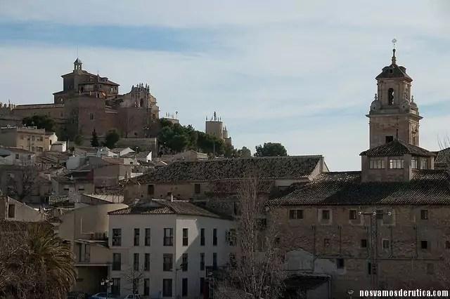 Vistas de la ciudad de Caravaca de la Cruz