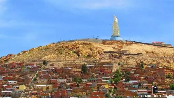 Virgen del Socavón en Oruro