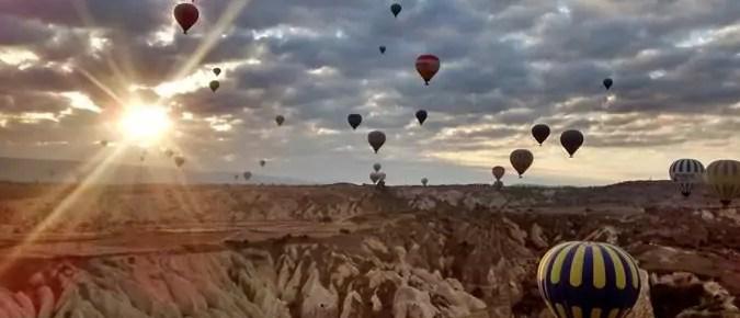 Capadocia: La inolvidable experiencia de un amanecer en globo