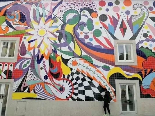Arte urbano en Oporto