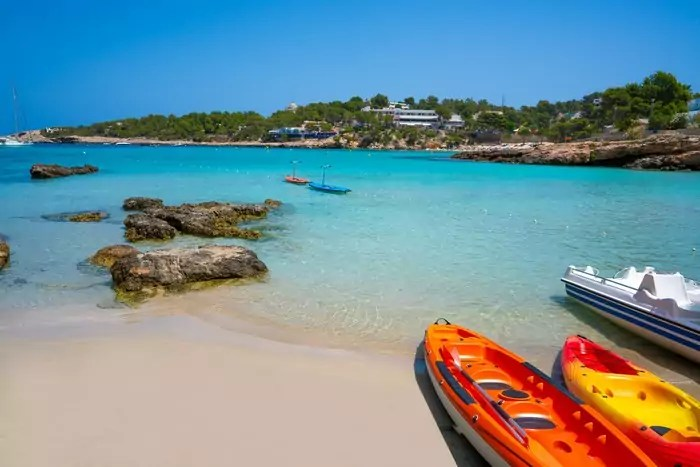 Cala Portinatx, Ibiza