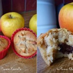 Muffins pomme cannelle chocolat
