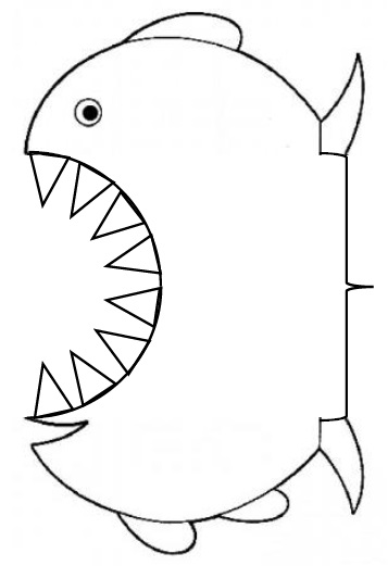 Poisson Gentil Poisson Mechant Coloriage De Poisson Qui Se