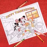 Coloriage de Thanksgiving