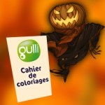 Cahier de coloriages Halloween de Gulli