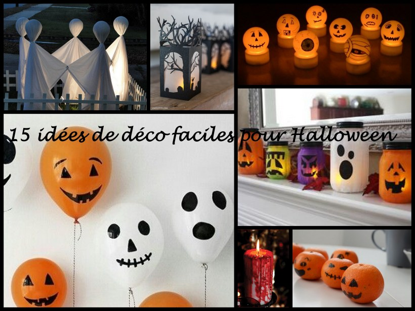 15 id es d co faciles pour halloween nos vies de mamans. Black Bedroom Furniture Sets. Home Design Ideas