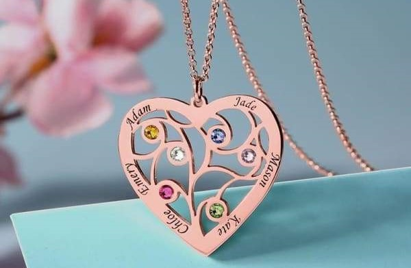collier famille jewelssimo