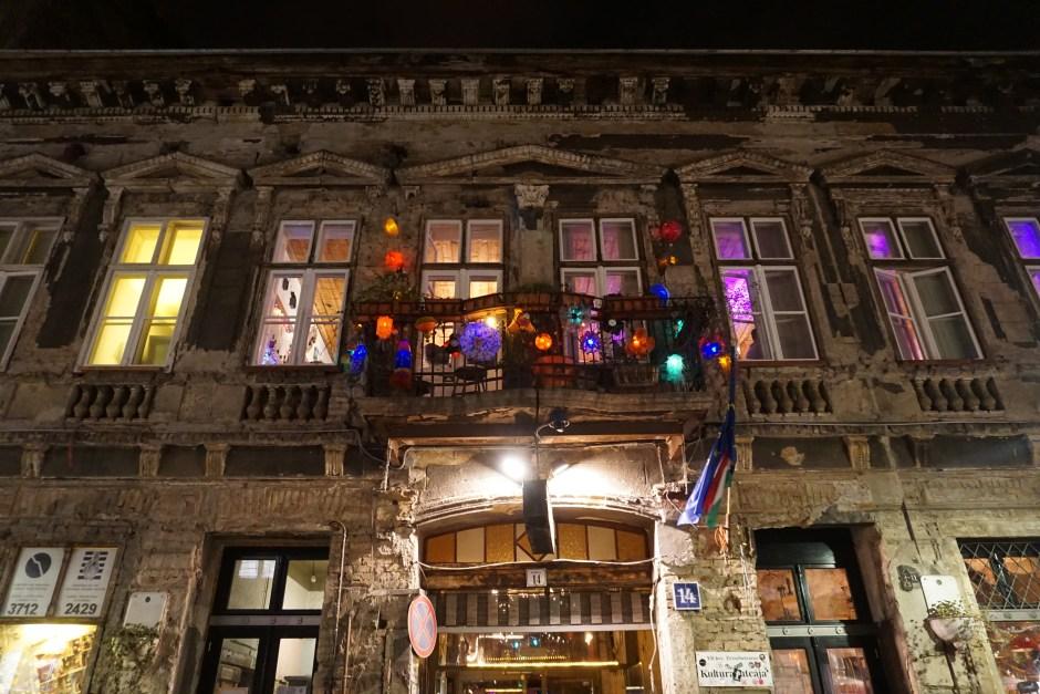 Ruin pub, Budapest