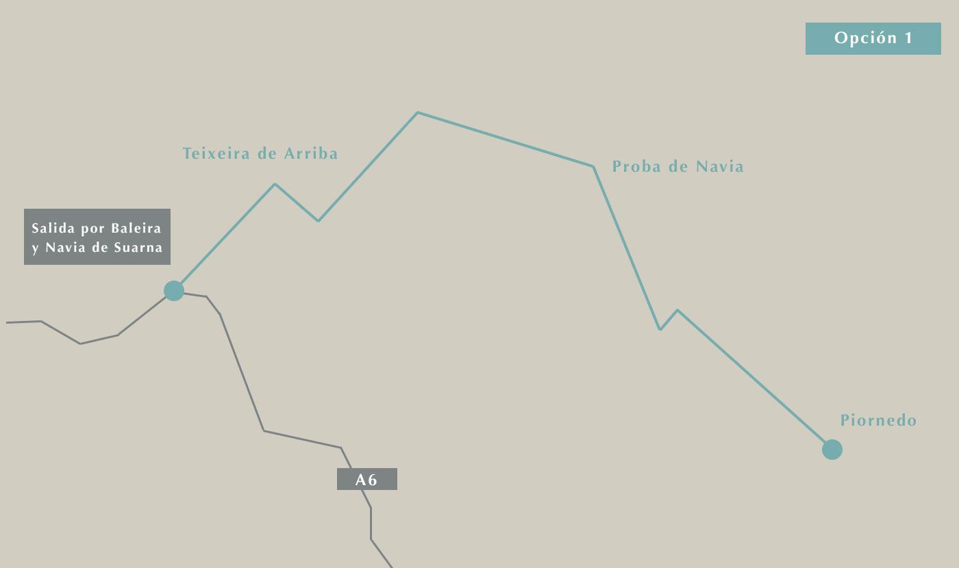 Cómo llegar a Piornedo desde Galicia 1