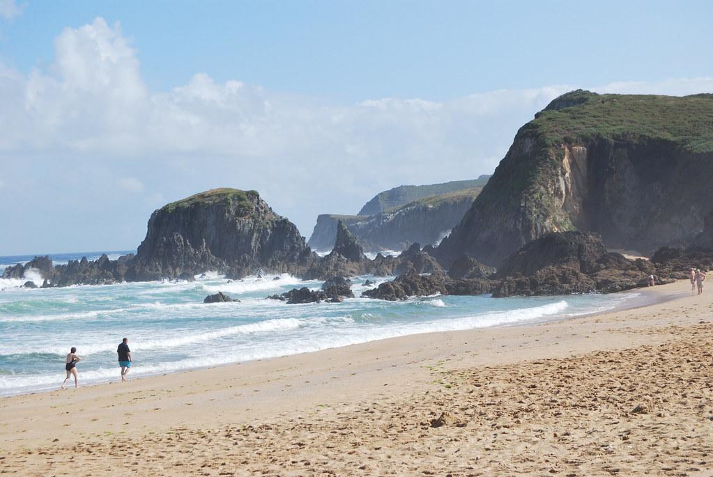 Playa de A Frouxeira / Valdoviño (Galicia)