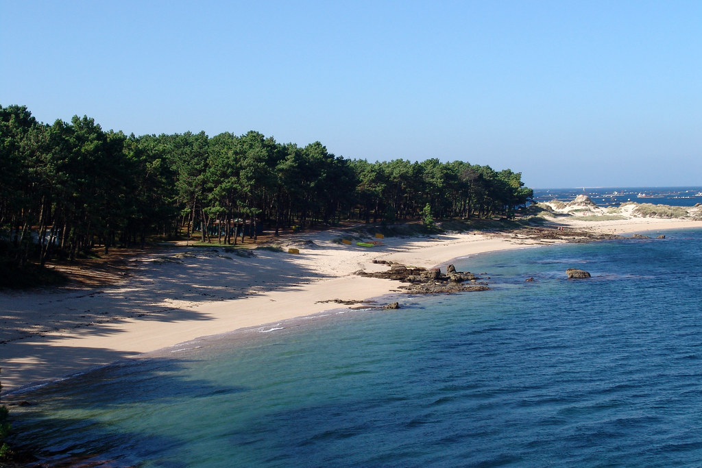 Playa Area da Secada (Illa de Arousa)   Pontevedra, Galicia