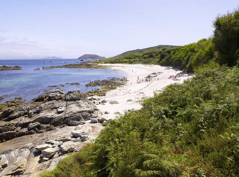 Playa Area dos Cans (Illa de Arousa)   Pontevedra - Galicia