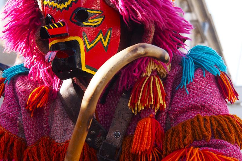 Máscaras del carnaval de Bragança