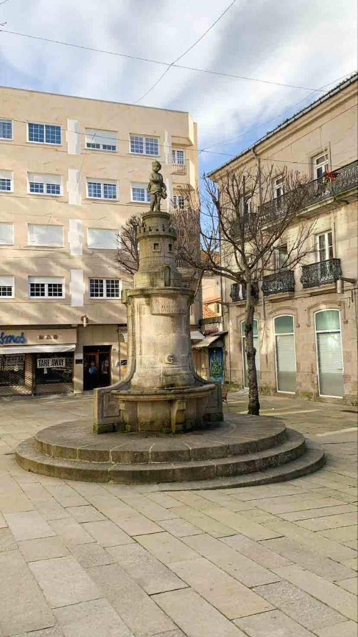 Inicio Ruta Casco Antiguo de Vigo (Praza da Princesa)