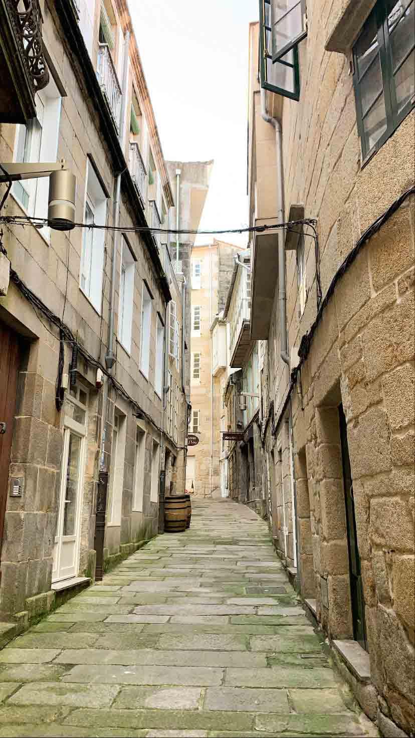 Rúa dos Cesteiros (Casco Antiguo de Vigo)
