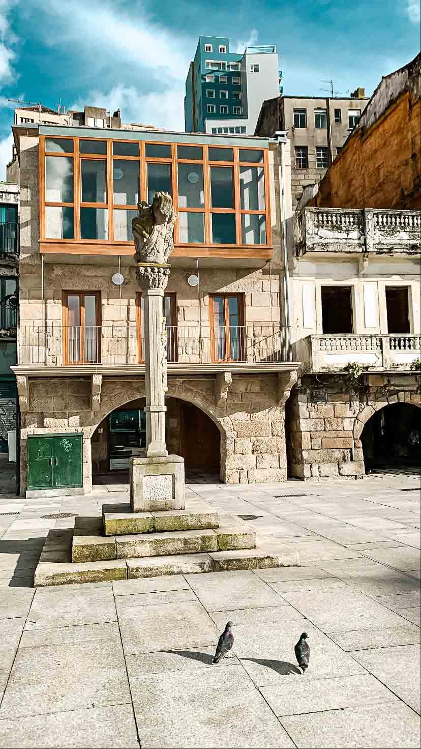 Praza do Berbés (Casco Antiguo de Vigo)
