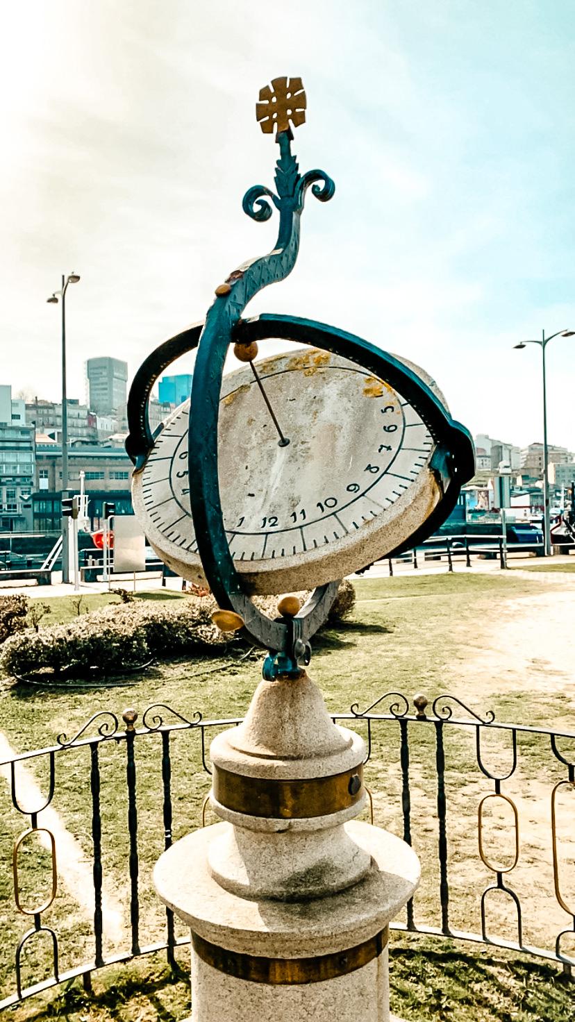 Reloj de Sol (Puerto de Vigo)