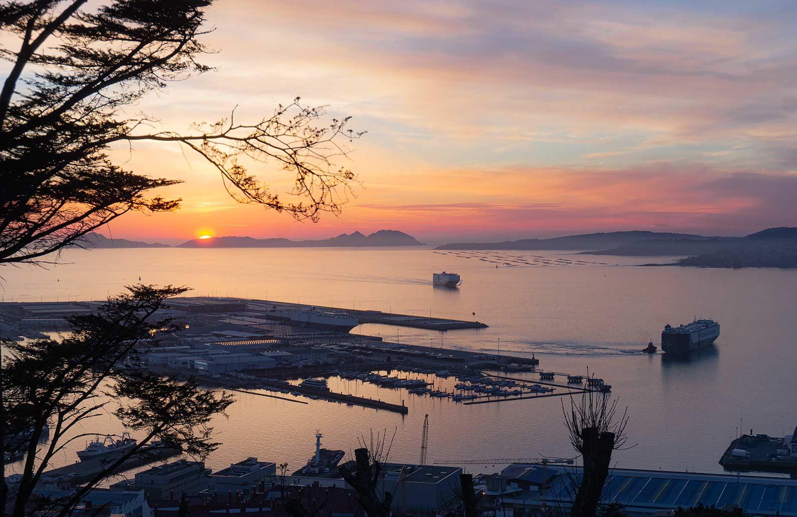 Qué ver en Vigo (Atardecer Monte do Castro)