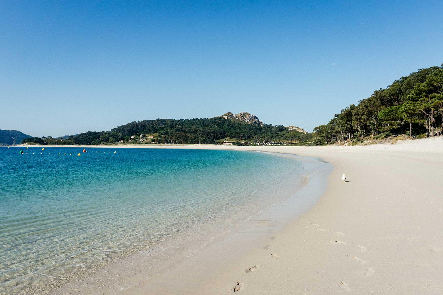 Praia de Rodas (Islas Cíes)
