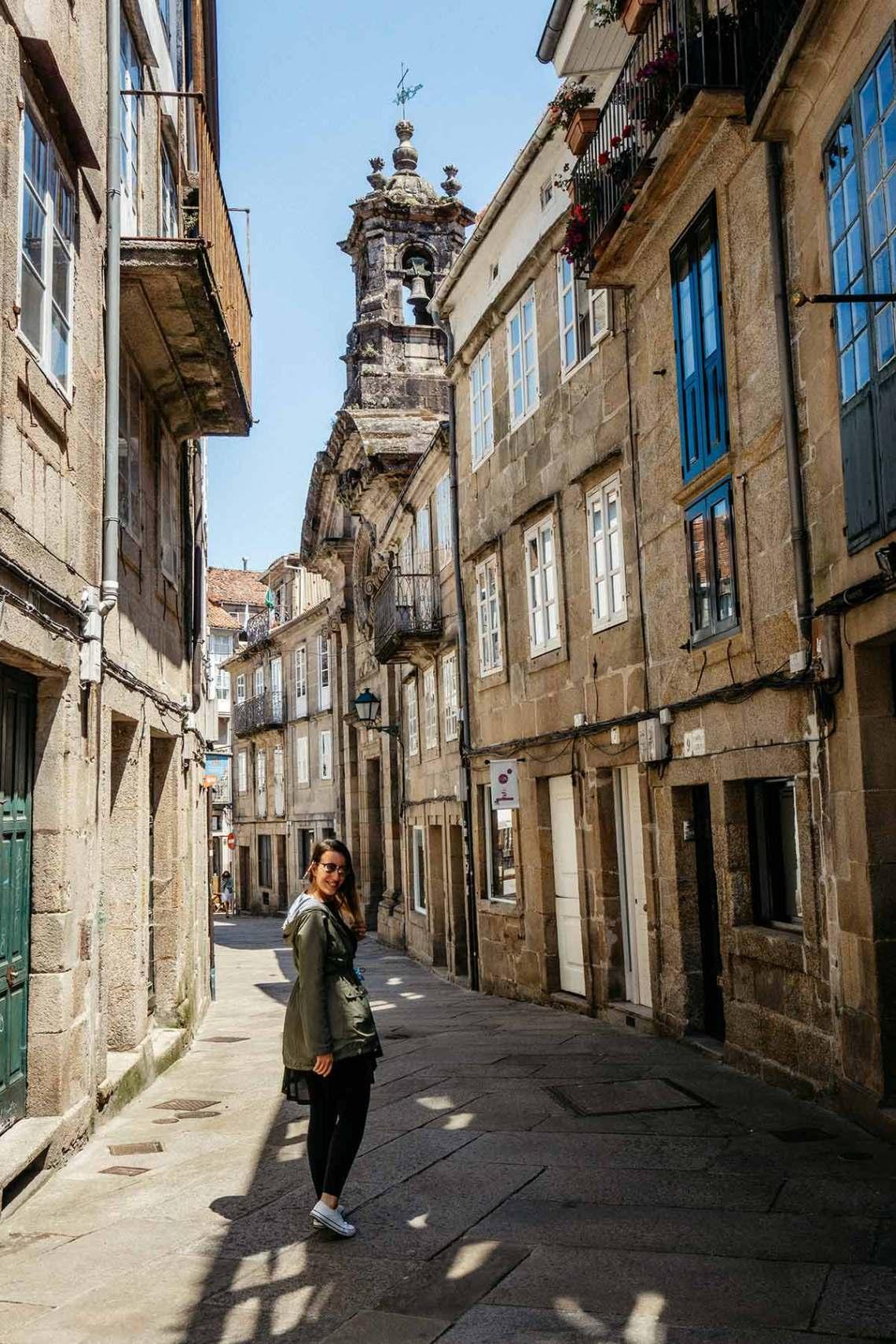 Casco Vello De Santiago de Compostela