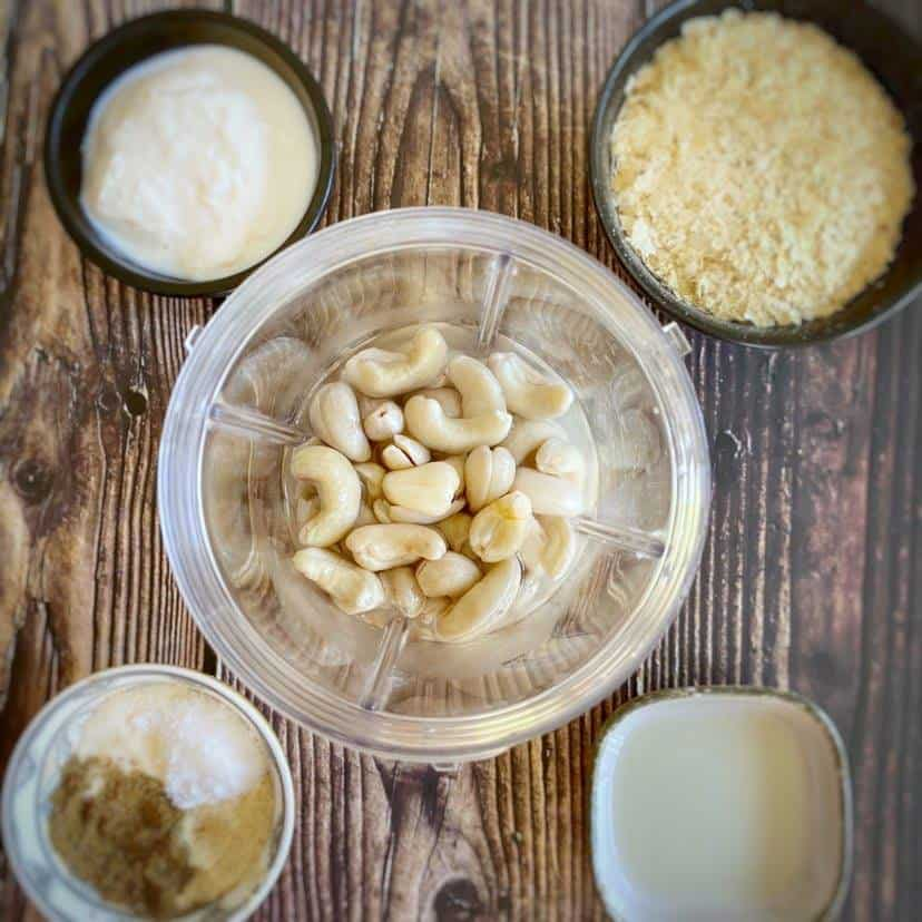 Vegan Cashew Queso