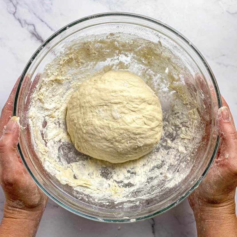 pizza dough vegan