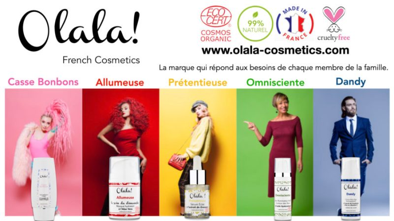 Olala! French Cosmetics, une marque qui casse les codes