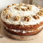 gâteau cake miel noix