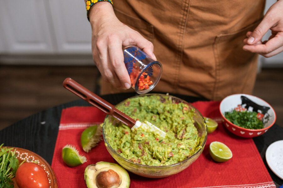 La fameuse recette du guacamole aux crevettes