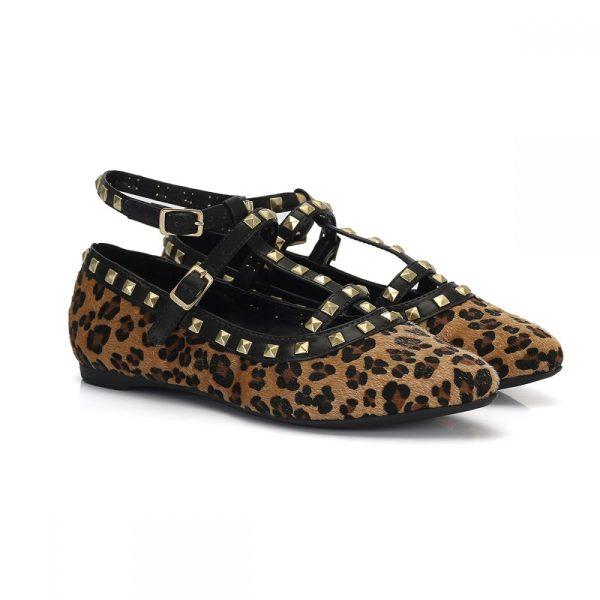 755e97d5e3 Sapatilha Valentino Feminina Bico Fino Onça – Not-me Shoes