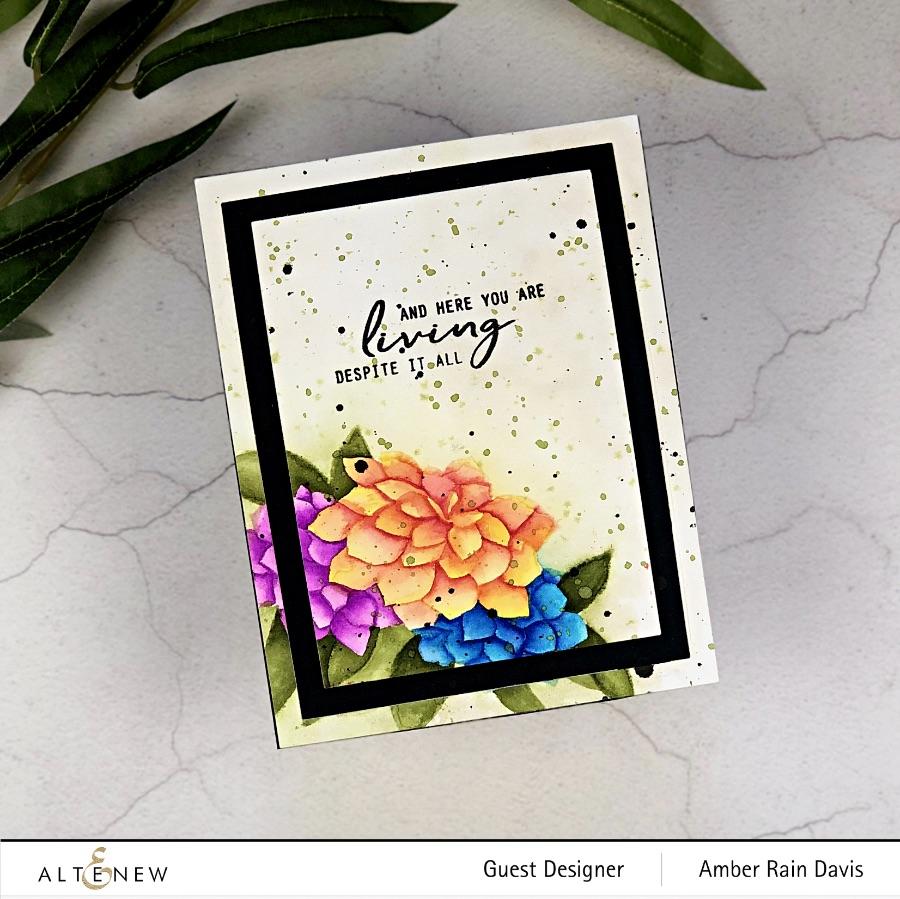 Watercolor Craft Project Resuscitation Watercolor Card