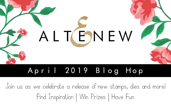 Altenew April 2019 Release Blog Hop + Giveaway