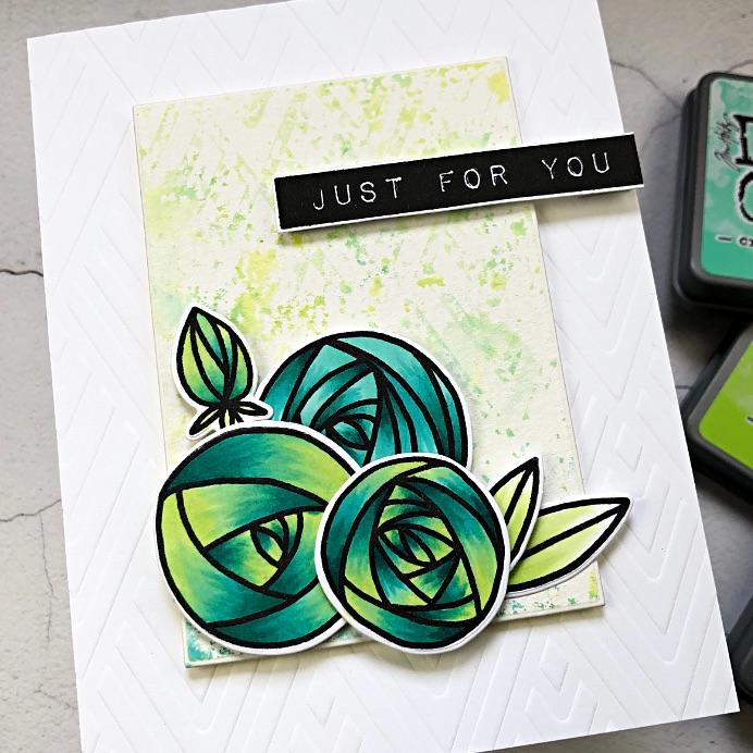 Altenew Rennie Roses & Artist Markers
