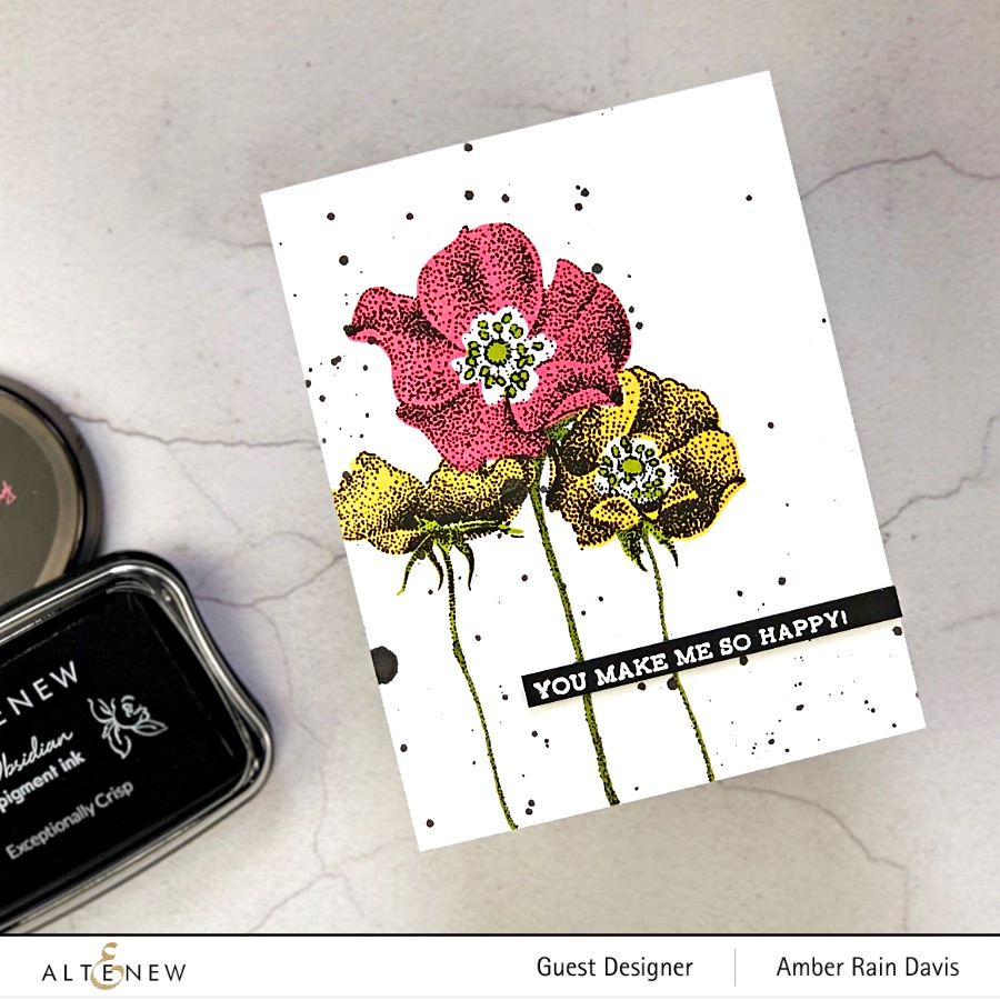 Altenew Peaceful Reverie Stamp Set