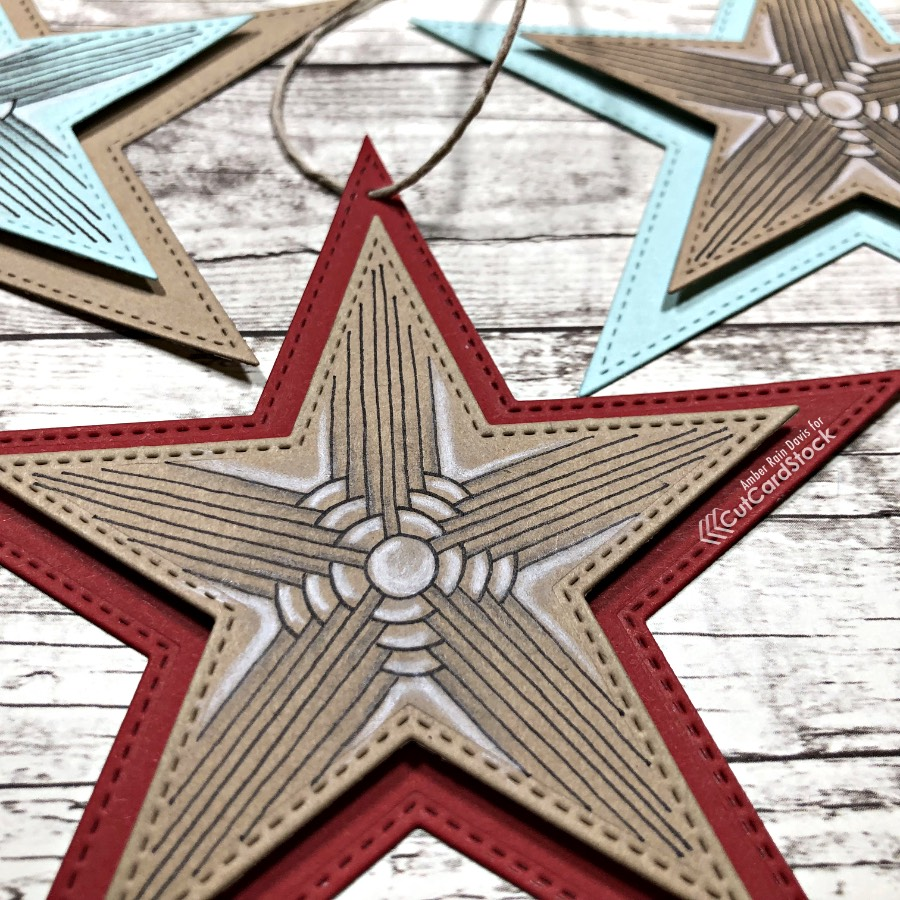 Zentangle®Ornaments or Gift Tags