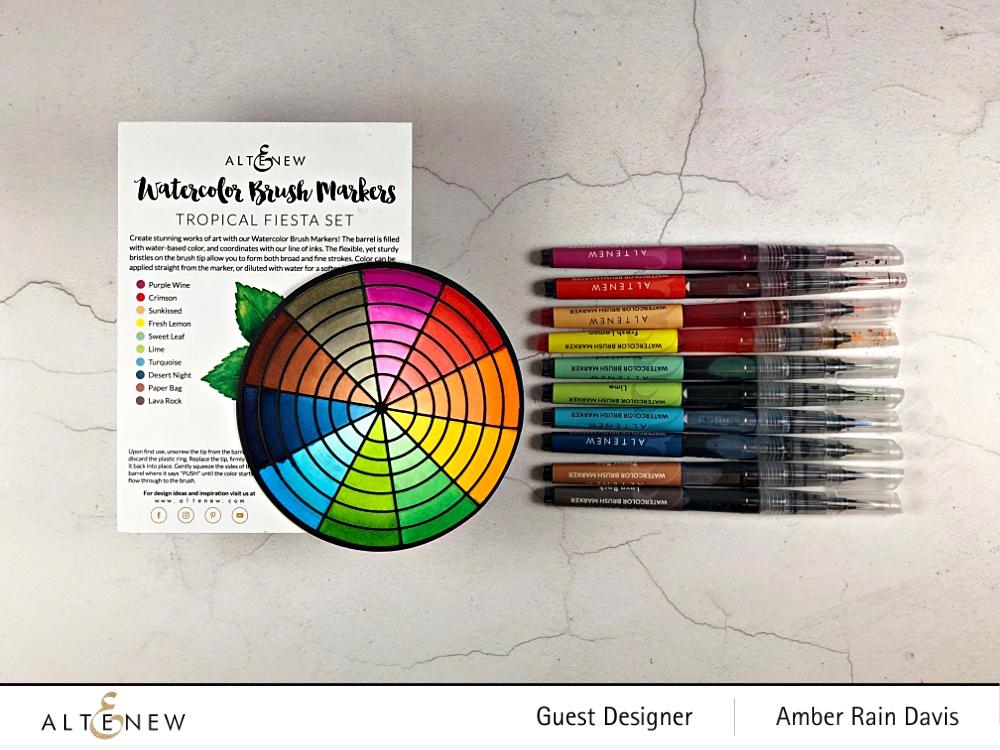 Altenew Color Wheel Die swatches