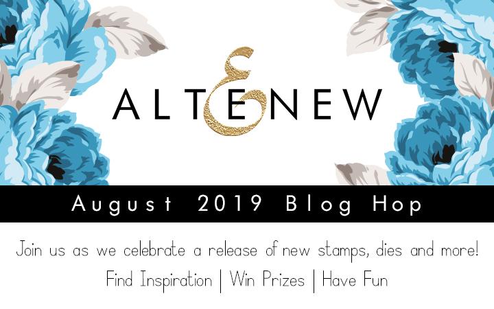 Altenew August 2019 Stamp/Die/Stencil Release Blog Hop + Giveaway