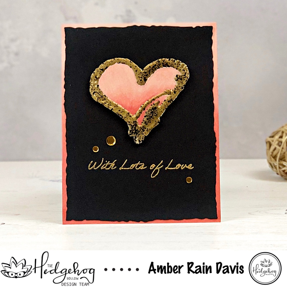 WOW! Embossing Freestyle Tool | Freestyle Embossed Heart