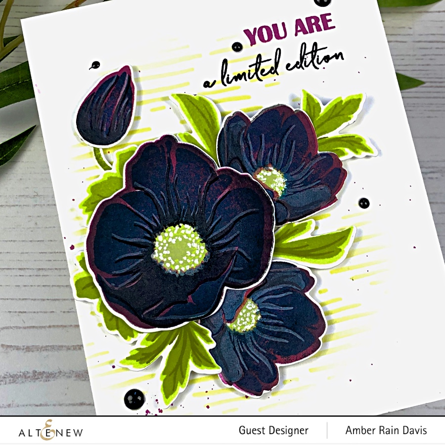 Stamp Layering Tips for Altenew Build-A-Flower: Hellebore
