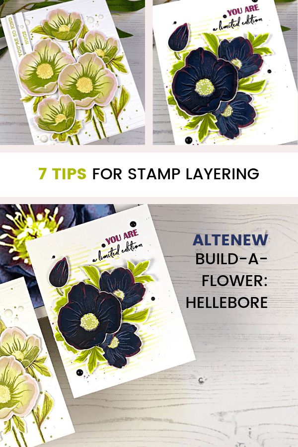 Pinterest 7 Tips for Stamp Layering