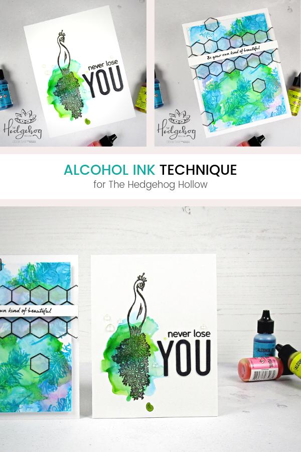Pinterest | Alcohol Ink Technique