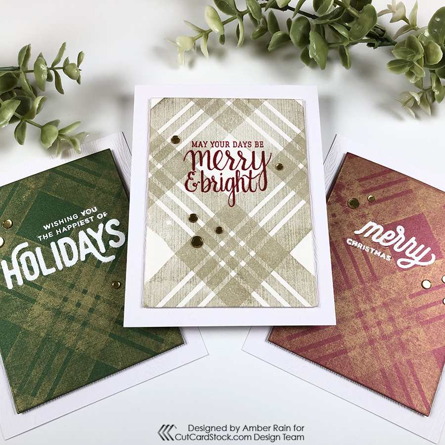 Clean & Simple Christmas Cards