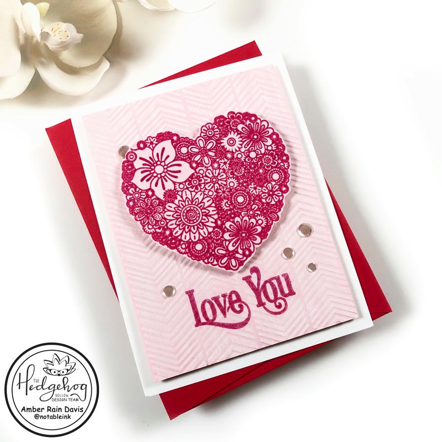 Doodle Heart Stamp Set