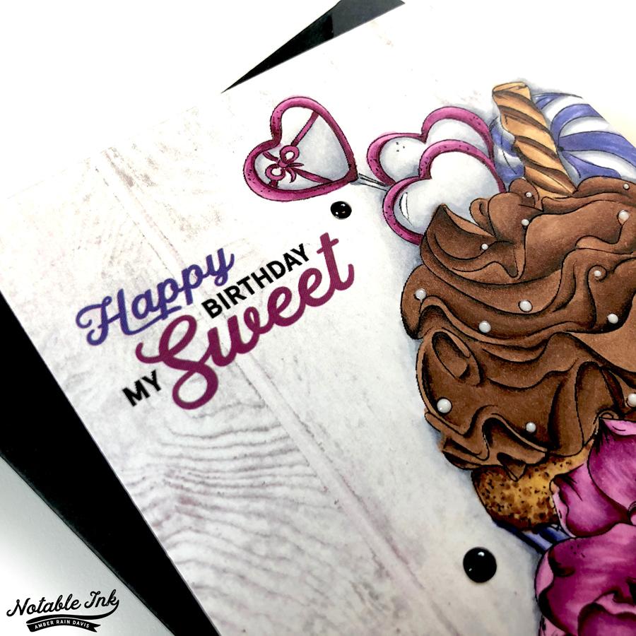 Alex Syberia Candy Cupcake Copic Coloring