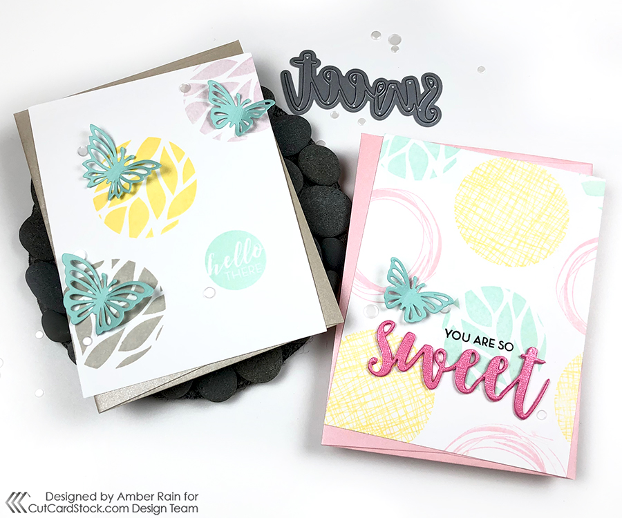 Clean and Simple Spring Cards