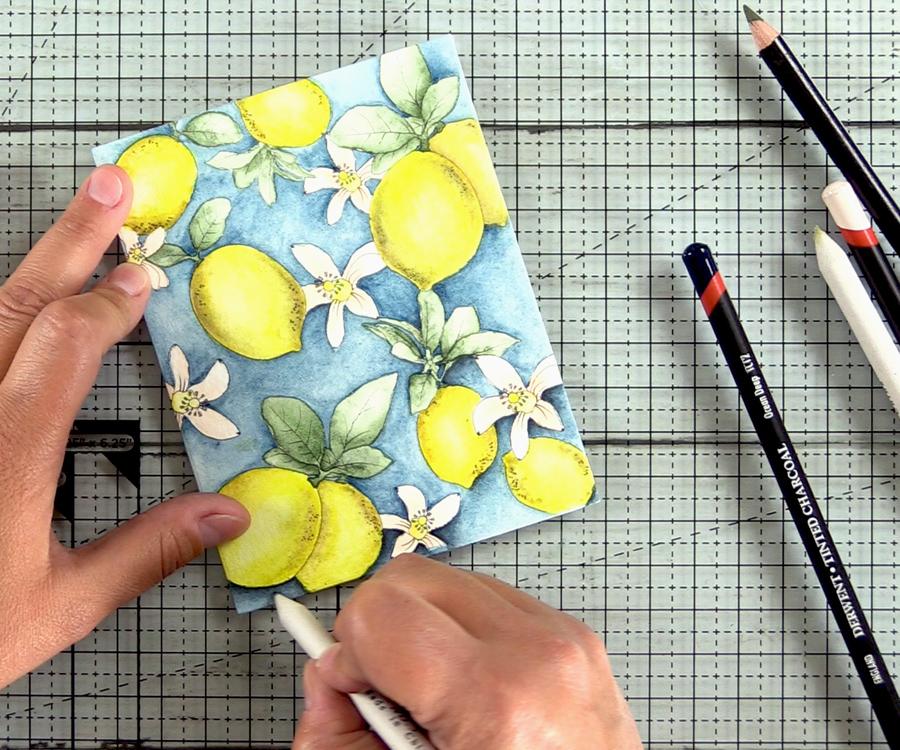 Derwent Tinted Charcoal Pencils | Secret Watercolor Hack