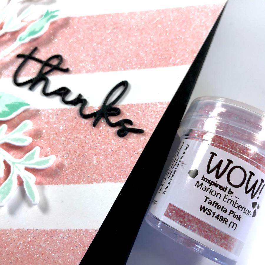 WOW! Taffeta Pink Embossing Powder
