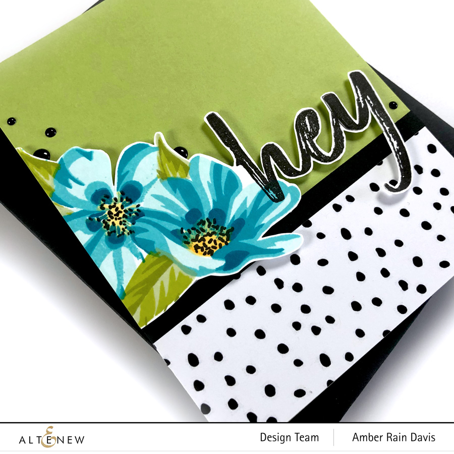 Altenew Verdant Walk Paper Pack | Clean & Graphic No Coloring Card Design