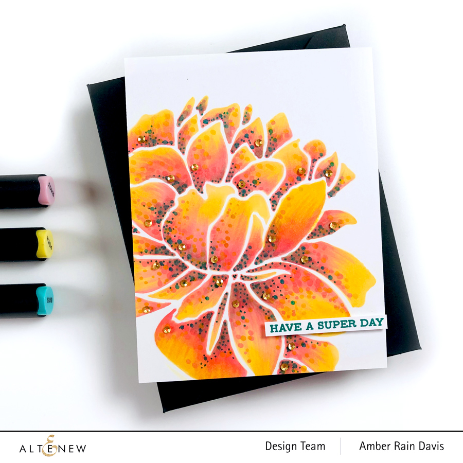 Altenew Mega Bloom Stencil